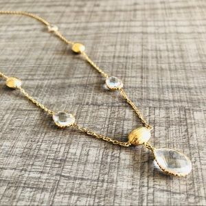 Pear & Nugget Necklace